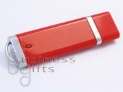 Ярко красная флешка под печать логотипа цветом
