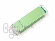 Светло зеленая флешка под нансение Вашего логотипа