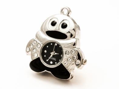 Флешка часы в виде пингвинчика