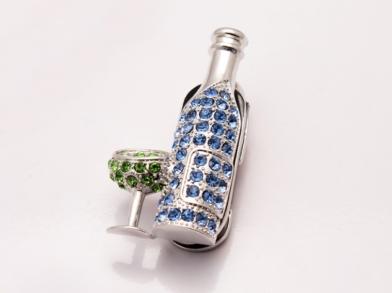 Флешка бутылка