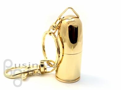 флешка пуля золотая