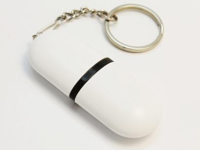Белая флешка таблетка
