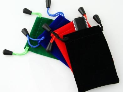 Упаковка для флешки - Бархатный мешочек