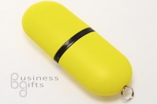 Желтая флешка-пилюля