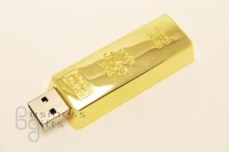 USB флешка - слиток золота