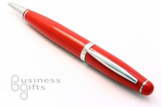 Красная флешка ручка
